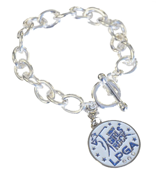 """Girls Rock"" LPGA Bracelet"