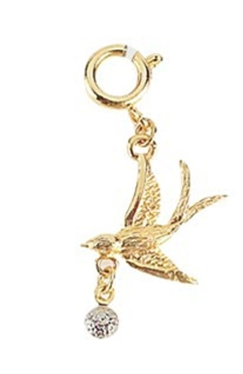 Birdie Cell Phone Charms/Shoe Charms/Zipper Pulls