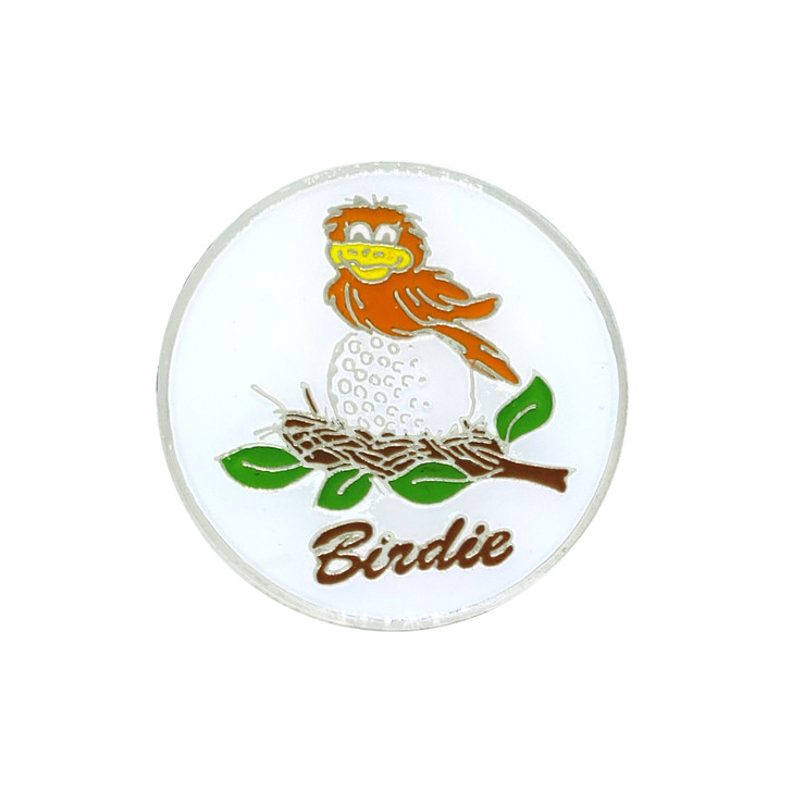 Birdie on the Ball Ball Marker with Hat Clip