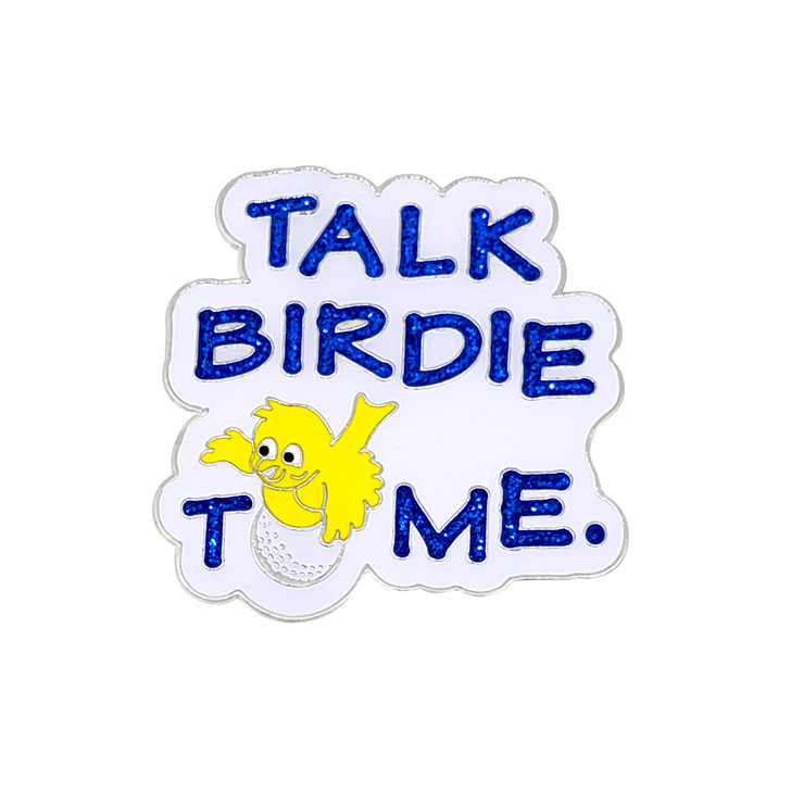 Talk Birdie To Me Ball Marker with Hat Clip