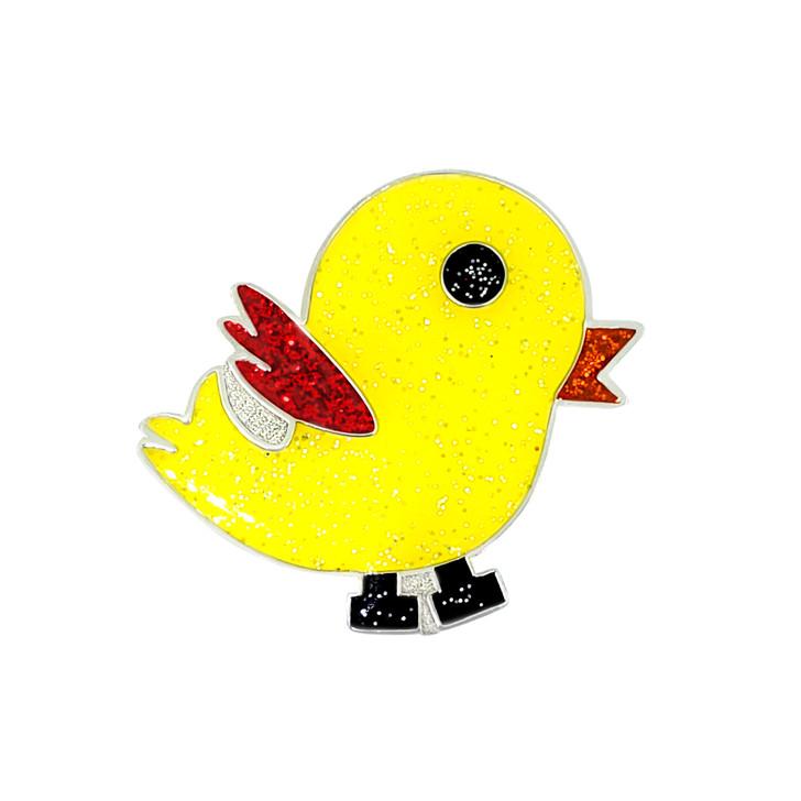 Tweet Tweet Glitzy Ball Marker with Hat Clip