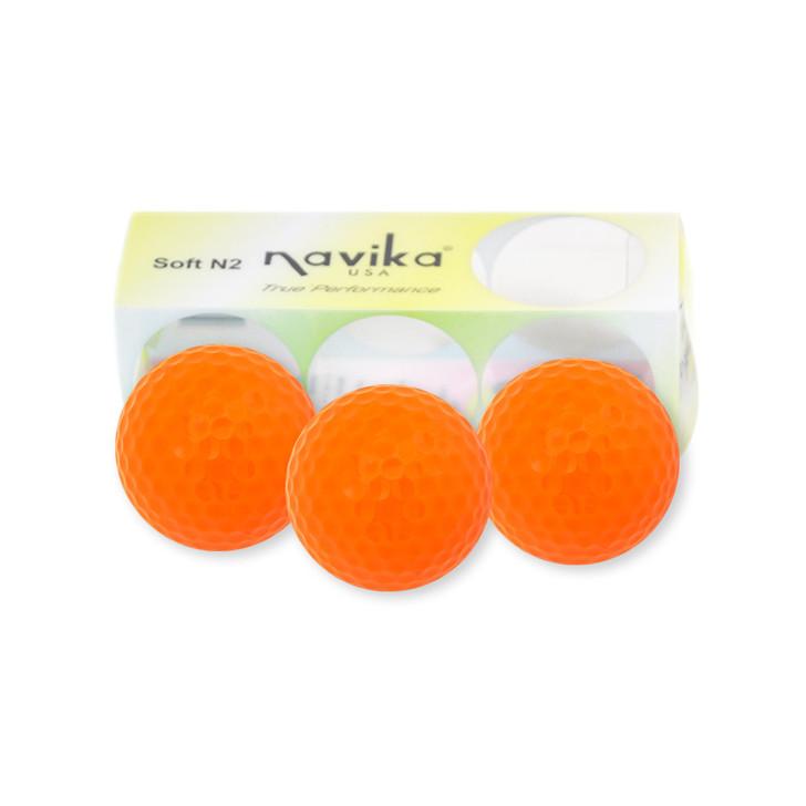 Golf Balls - Neon Orange