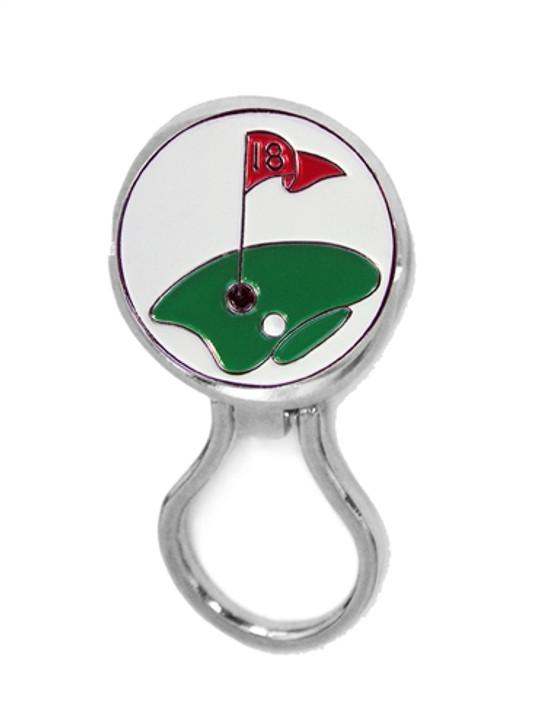 Eyeglass Holder w/ 18th Hole Ball Marker
