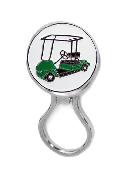 Eyeglass Holder w/ Golf Cart Ball Marker