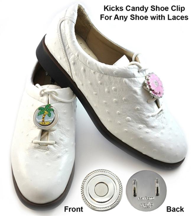 Round Kicks Candy Shoe Clip