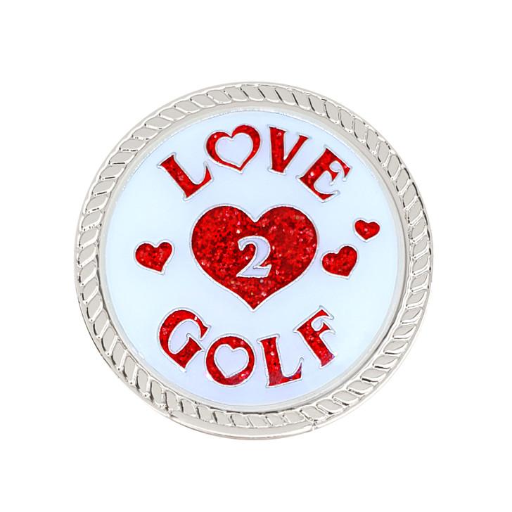 Love 2 Golf Glitzy Magnetic Kicks Candy Shoe Ball Marker