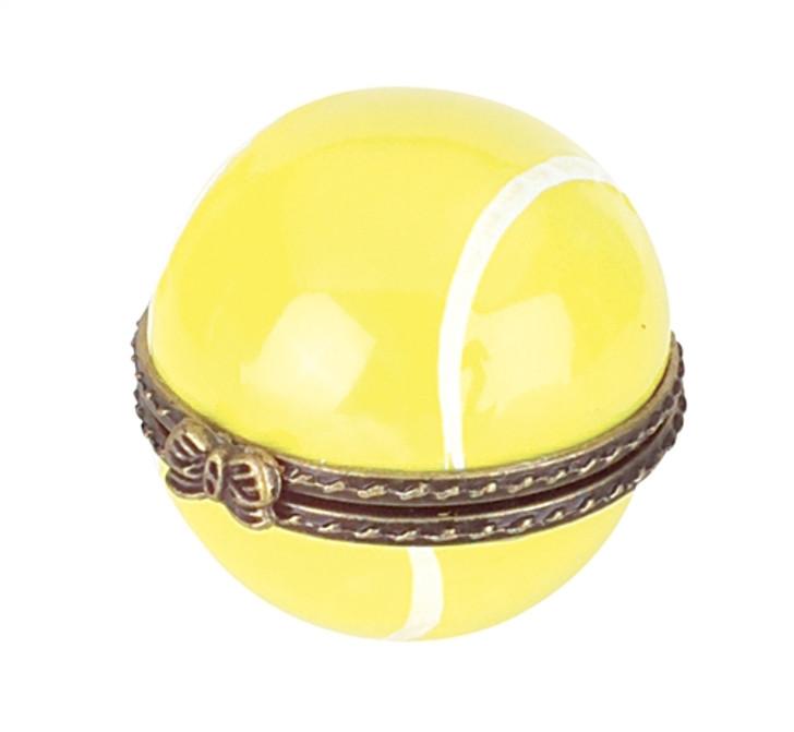 Tennis Ball Porcelain Box