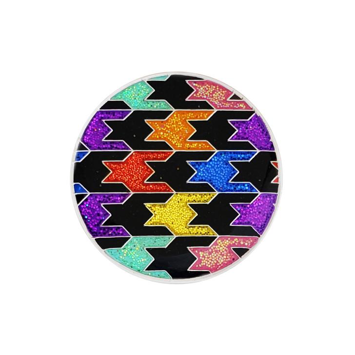 Loudmouth Black Razzle Dazzle Glitzy Ball Marker with Hat Clip