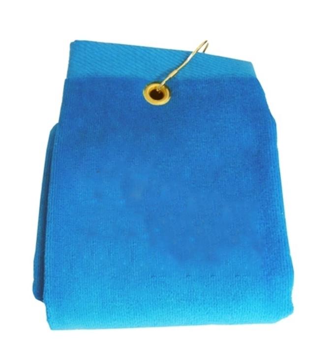 Golf Towel - PLAIN Teal Terry Cloth Athletic Sports Towel