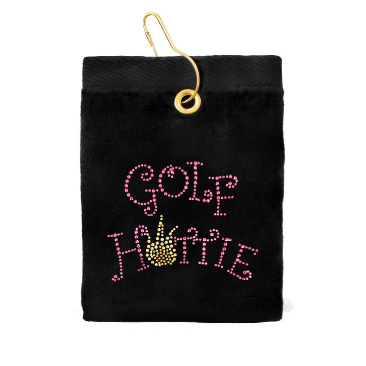 Golf Towel - Golf Hottie Crystal Terry Golf Towel