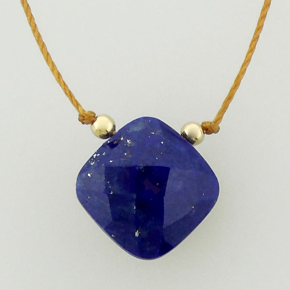 solo cushion - lapis lazuli 4c