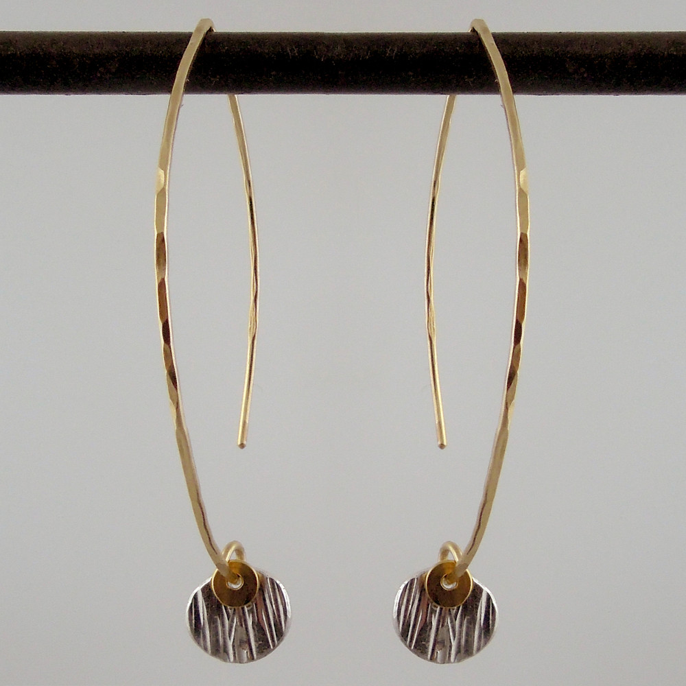 ARC dab woody SS - 1/4'' earrings