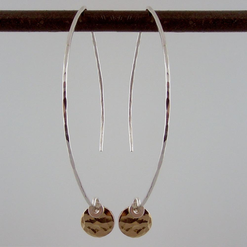 ARC dab GF - 1/4'' earrings