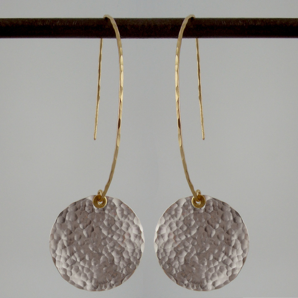 ARC disquette 4 pebble SS - earrings