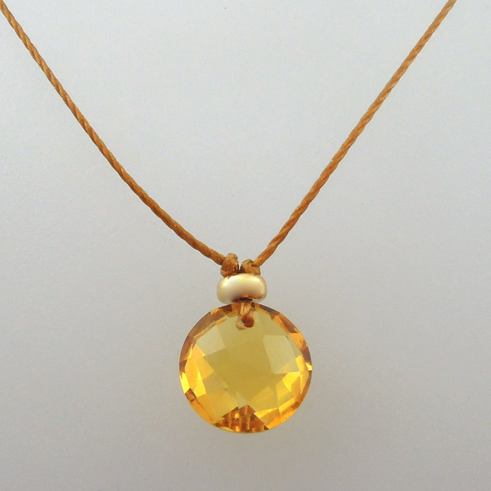 citrine 14kt gold fill option