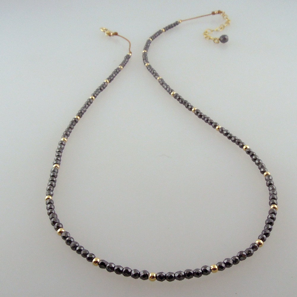 """HALO  in 14kt gold fill with 2"""" extender"""