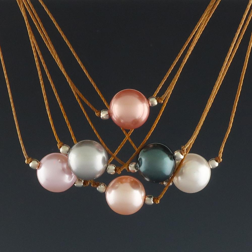 Pastille - 8mm Swarovski Necklace