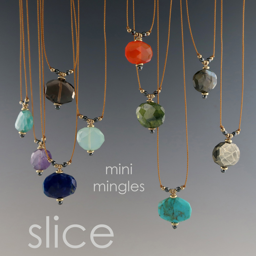 Mingle Mini Slice - multiple gem options