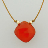 solo cushion - carnelian 4c