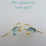 aquamarine 18kt gold