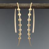 gear arc 7 earrings mono GF