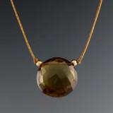 solo luxe coin - cognac quartz 12mm
