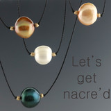 Get Nacre'd - cultured pearl necklace 10mm