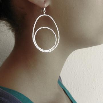 shape - egg 'n yolk earrings