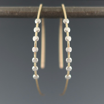 gear arc 7 earrings GF