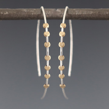 gear arc 7 earrings
