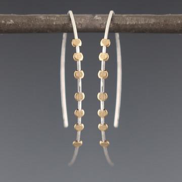 gear arc 7 earrings