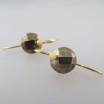 Pyrite 18kt gold