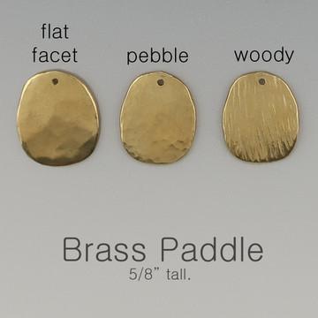 ARC - shape - paddle - brass - ER