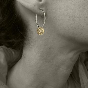 dab - ziggy stardust earring hoops GF