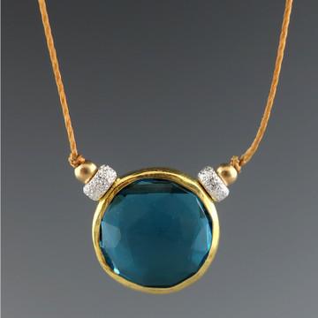 solo - rustica coin london blue quartz