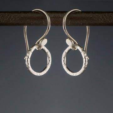 BL circle 1 wee woody - earrings