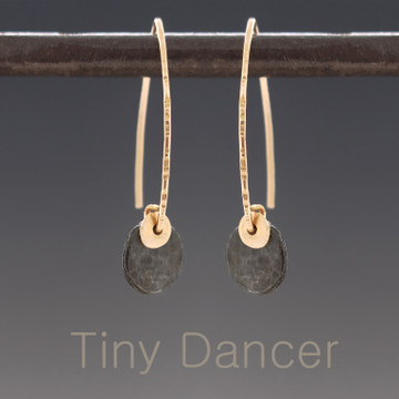 Tiny Dancer -  DAB flat facet oxidized