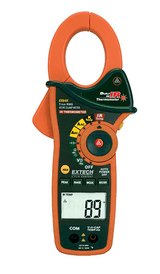 EXTECH EX840 Clamp Meter with AC/DC with IR Thermometer