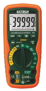 EXTECH EX530 11 Function Heavy Duty True RMS Industrial MultiMeter