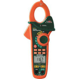 EXTECH EX613-NIST Dual Input AC/DC Clamp Meter, 600V, 400A & Non-Contact Voltage Detector w/NIST Calibration