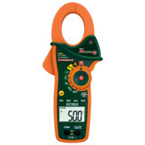 EXTECH EX820-NISTL True-RMS AC Clamp Digital Multimeter, 600V AC/DC, 1000A & IR Type K Thermometer w/Limited NIST