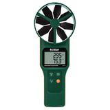 EXTECH AN310 Large Vane CFM/CMM Anemometer/ Psychrometer with NIST