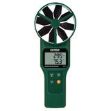 EXTECH AN320-NISTL Large Vane CFM/CMM Anemometer/Psychrometer & CO2 with Limited NIST
