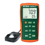 EXTECH EA33-NIST Easy View Light Meter with Memory and NIST