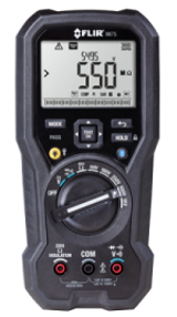 FLIR IM75-NIST True RMS Insulation Tester/DMM, VFD Mode, METERLiNK Technology, NIST