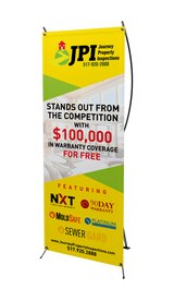 X-Back Banner - Custom