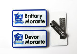 Name Badges w/Magnetic Clip