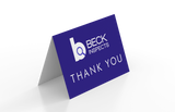 """Leave Behind Thank You Cards 5"""" x 7"""" - Re-Order"""