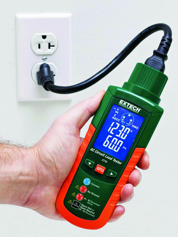 EXTECH CT70 AC Circuit Load Tester on