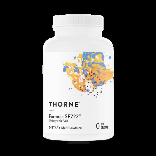 "Thorne --- ""Formula SF722"" --- Intestinal & Vaginal Flora Support - 250 GelCaps"